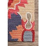 nuLOOM Felicity Hand Tufted Area Rug, 5' x 8', Multi