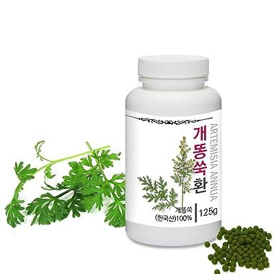 [Medicinal Korean Herbal Pills] Prince Natural Artemisia Annua Pills/프린스 개똥쑥환 (Artemisia Annua/개똥쑥): Health & Personal Care