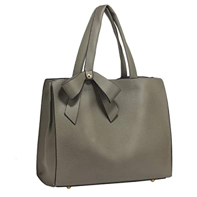 1b4e166d6115 Ladies 3 Compartment Handbag Women Extra Large XL bags Shoulder Tote  Designer Faux Leather