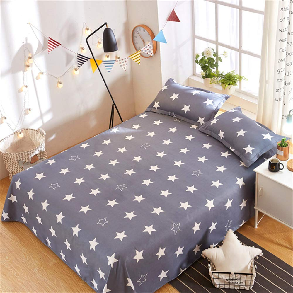Single Single Bed is Single ice Silk 1.8 Meters 1.2 Summer one Meter Two Sheets Single Summer European and American Style bunk Y-Year Moon 2.52.3m by iangbaoyo