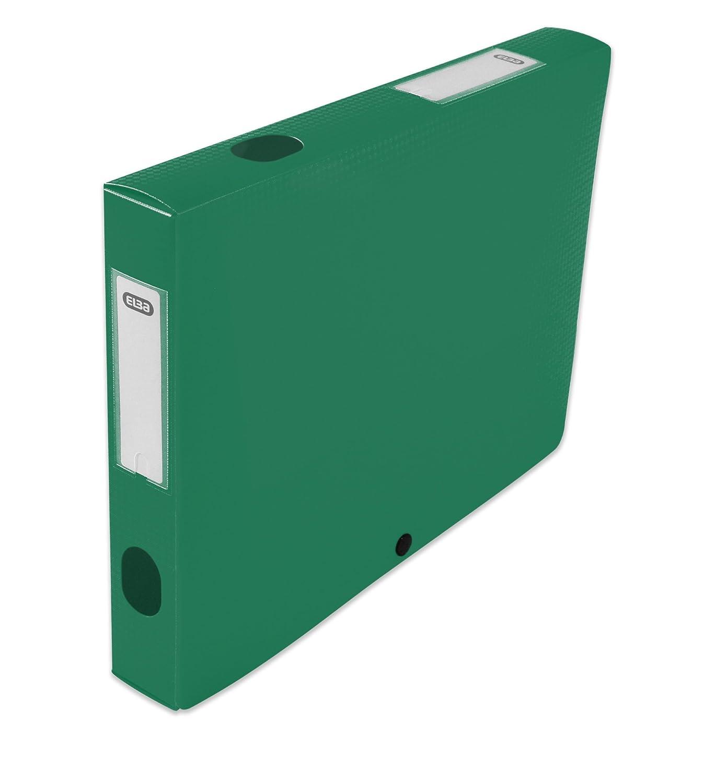 ELBA 400094612/Heftbox zu montieren R/ücken 40/mm Polypropylen blickdicht 24/x 32/cm gr/ün