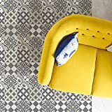 Gray $ white Kitchen vinyl mat Carpet Tiles Pattern Decorative linoleum rug , 312