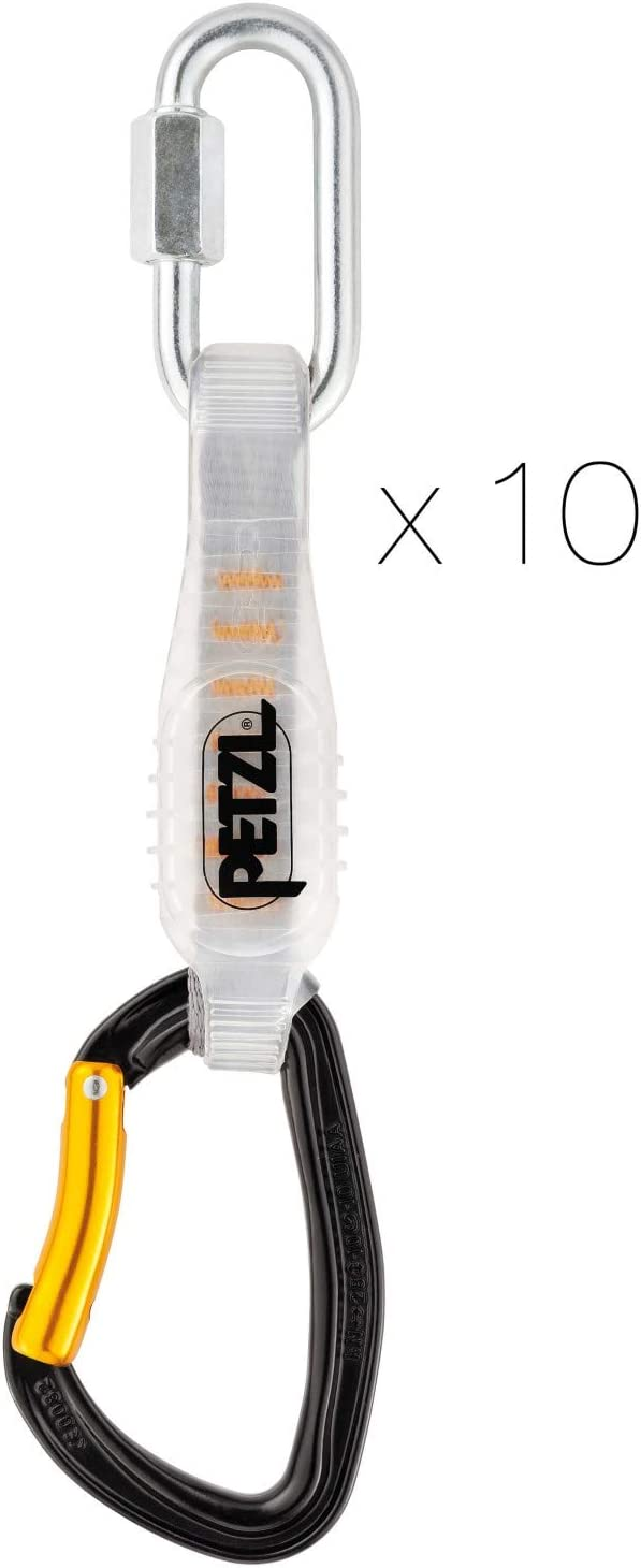 Petzl -Djinn Steel Axess Pack 10 C.Expres: Amazon.es: Deportes y ...