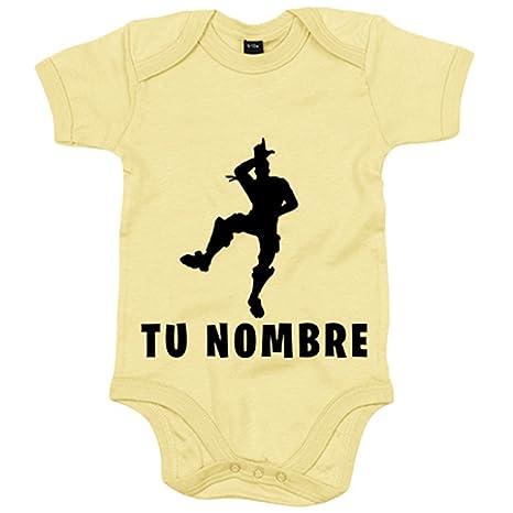 Body bebé pose Take The L baile Loser personalizable con nombre - Amarillo, 6-