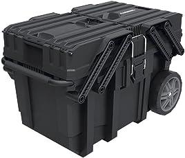 Great Design Heavy Duty Cantilever Mobile Job Tool Storage Organizer Box with  sc 1 st  Amazon.com & Tool Boxes | Amazon.com