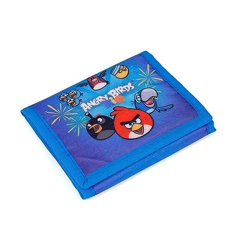 baa402789c P A S O , Portafogli Bambino Blu blau 13 x 10 x 1,5 CM: Amazon.it ...