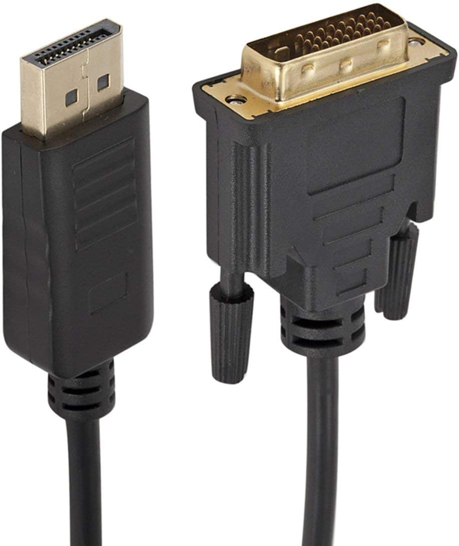 1 Adapterkabel 1,8 Meter 1080P Multiple Screens Display Funktion Noradtjcca DP zu DVI Adapterkabel Displayport zu DVI 24