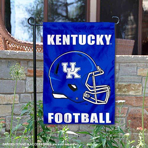 College Flags and Banners Co. University of Kentucky Football Helmet Garden Flag