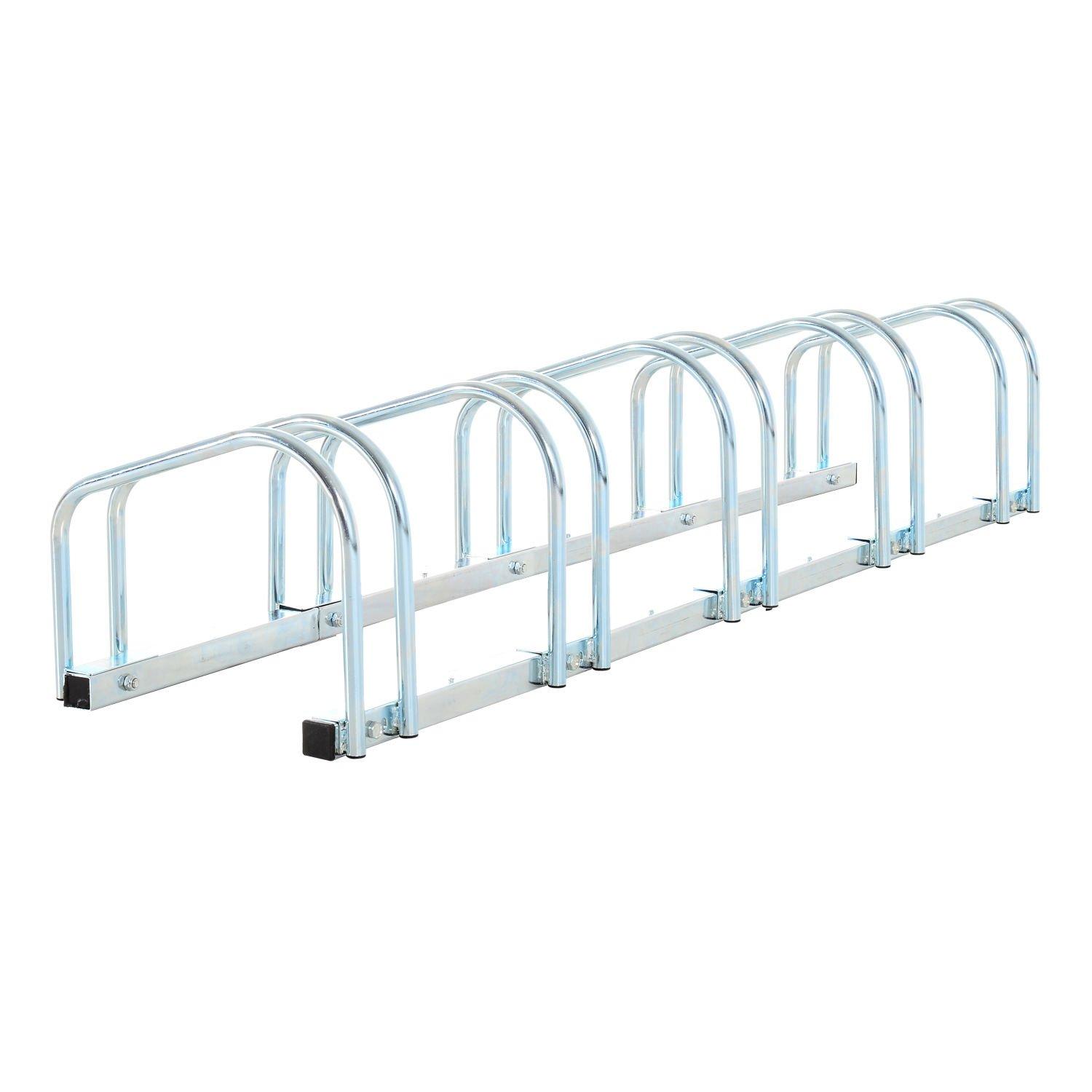 HOMCOM Bike Stand Parking Rack Floor or Wall Mount Bicycle Cycle Storage Locking Stand Sold by MHSTAR