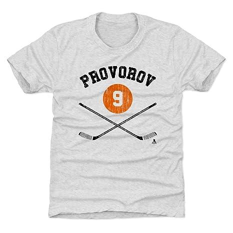 reputable site e6877 3ee32 Amazon.com : 500 LEVEL Ivan Provorov Philadelphia Hockey ...