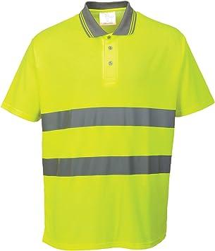 Portwest S171 - Camisa de algodón Comfort Polo, color Amarillo, talla 3 XL: Amazon.es: Industria, empresas y ciencia