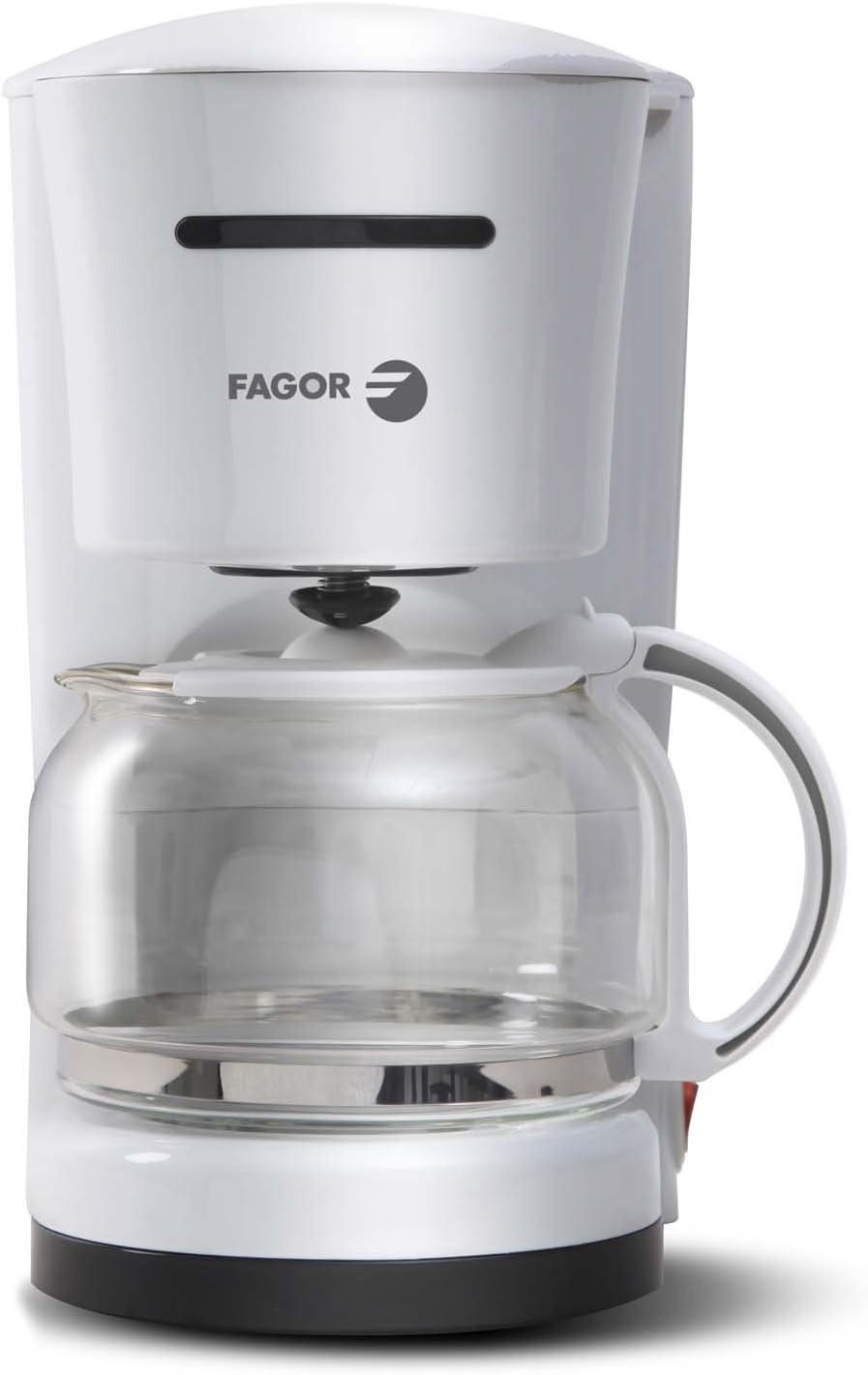 Fagor CG-512 Cafetera goteo, 870 W, 10-12 tazas, 1.25 litros ...