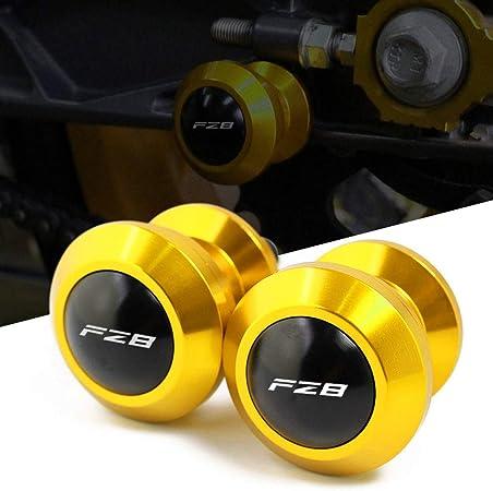 M6 6mm Schwingenschutz Schwingenadapter Ständer Bobbins Spool Racingadapter Ständeraufnahme Für Yamaha Fz8 Fz 8 2011 2012 2013 2014 2015 Auto