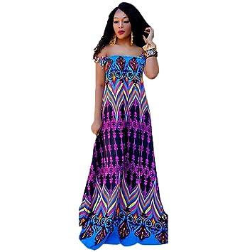 Vestido Estampado Clásico,Violeta,S