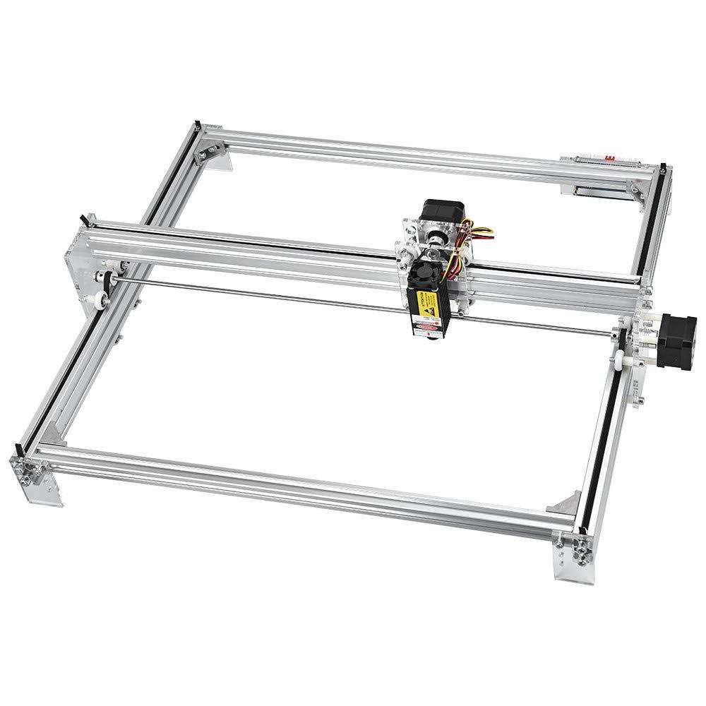 TOPQSC CNC Machine /à graver laser pour ordinateur de bureau avec logo Impression Impression 12 V USB D/écoupe bois Gravure Surface de gravure 30 x 40 cm