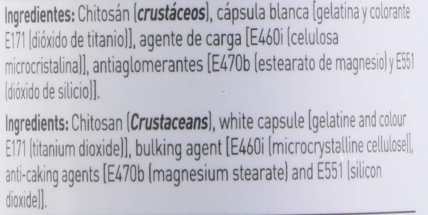 Chitosan de HSN Essentials - Supresor del Apetito - Bloqueador de ...