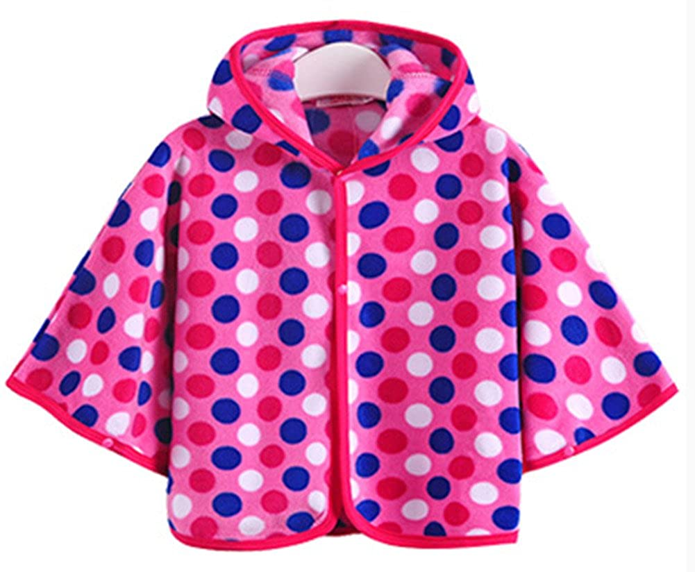 Emoyi Baby Kids Toddler Wear Hooded Cape Cloak Poncho Hoodie Coat DIHT-35