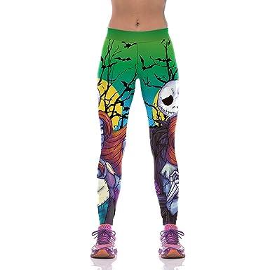 1c0ec922a334d Halloween leggings women nightmare before christmas jack pants fitness  sport yoga jpg 385x385 Jack skellington and