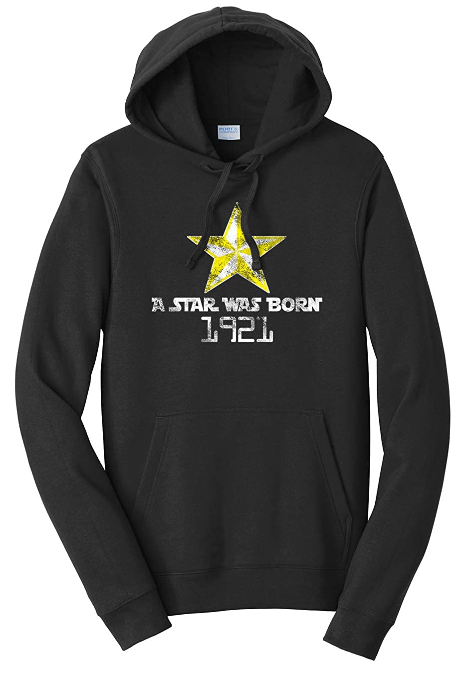 Tenacitee Unisex A Star was Born 1921 Sweatshirt