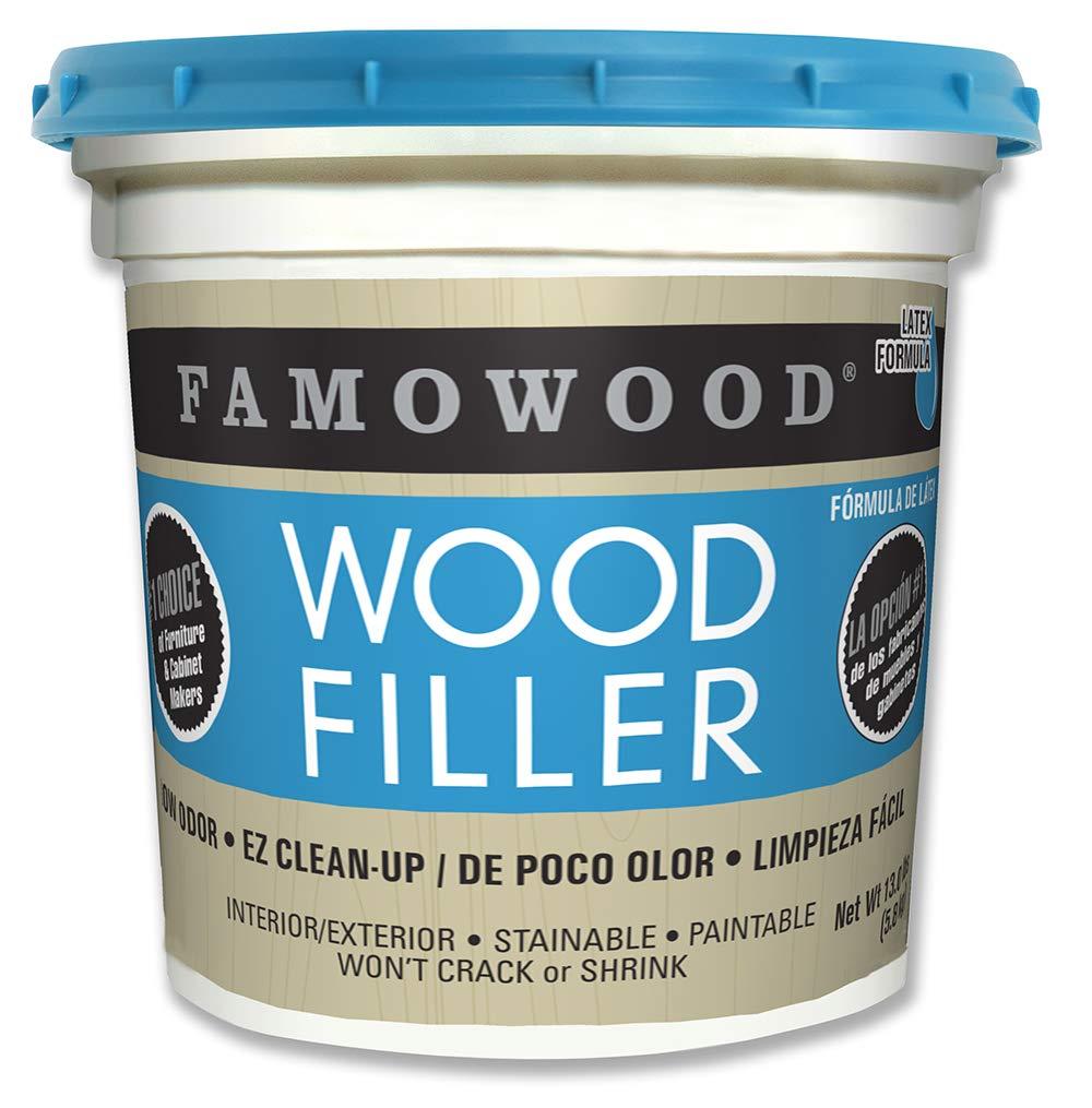 Famowood 40002128 Latex Wood Filler, Oak, Net Wt 13.0 lbs.