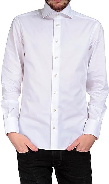 S.O.H.O. New York - Camisa formal - para hombre Weiß 44 ...
