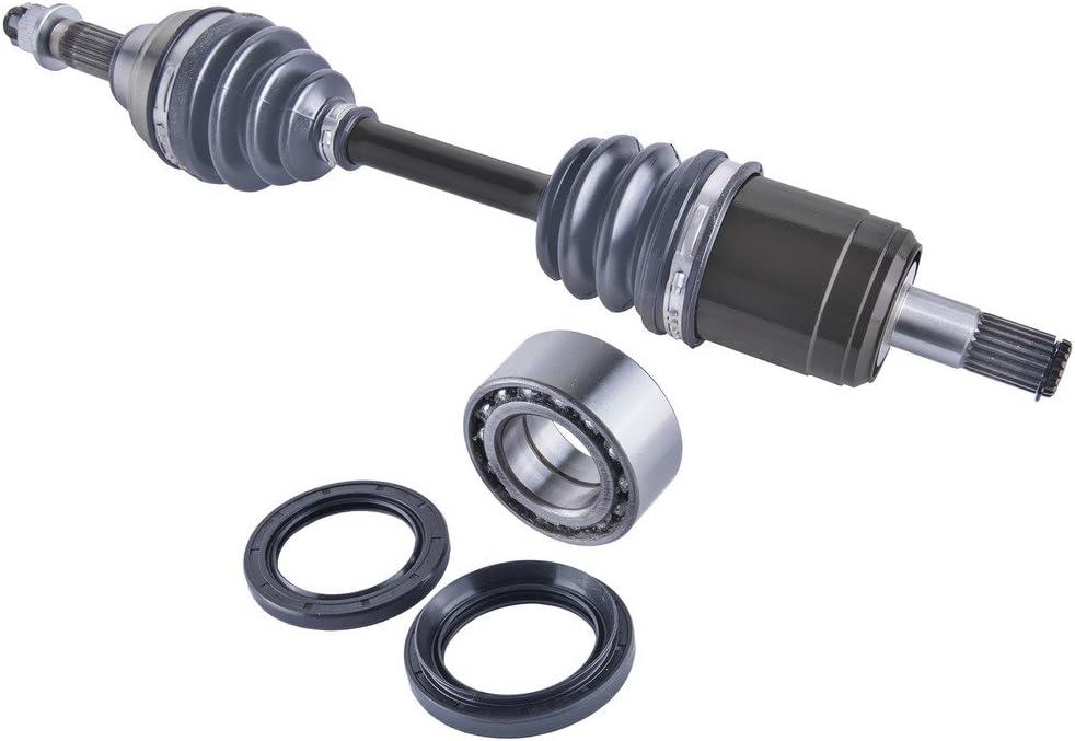 Honda TRX 400 Rancher front cv axles wheel bearings /& seals set 2004 2005-2007