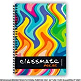 Classmate Pulse Single Line 5-Subject Notebook - 297mm x 210mm, 60 GSM, 250 Pages(Color and design may vary)