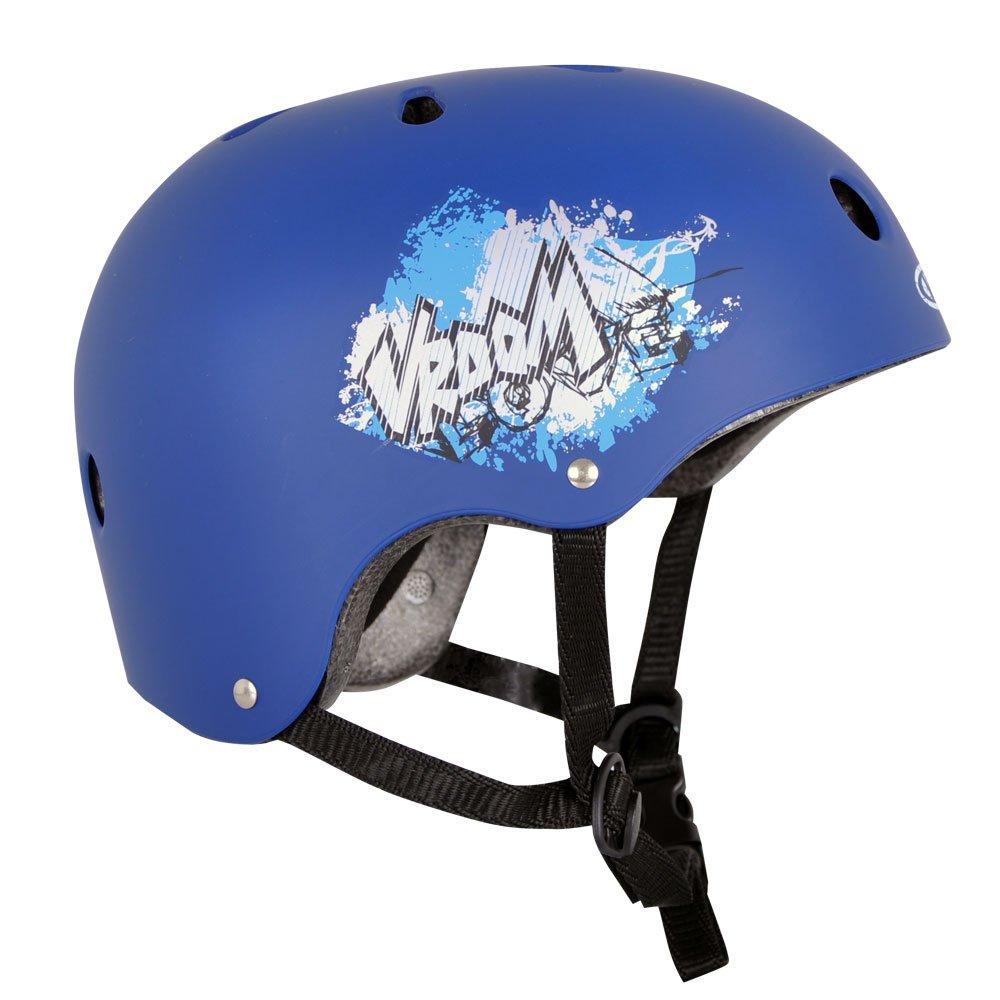 Skaterhelm Vroom blau Gr. 52-55, 55-58 cm verstellbar Worker