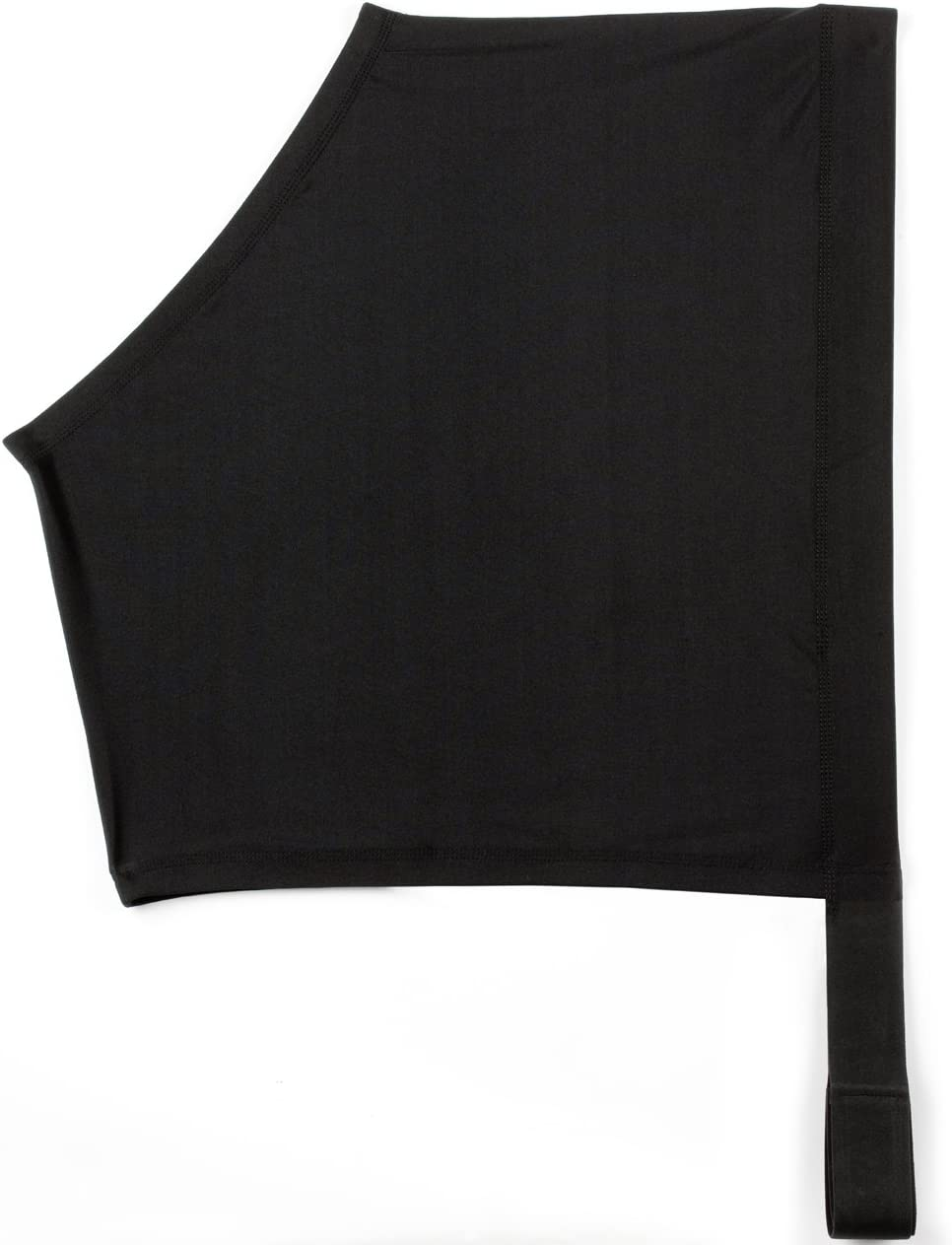 USG Slicker - Correa elástica para Hombro (Licra elástica en 4 direcciones, Cierre de Velcro, Talla L), Color Negro