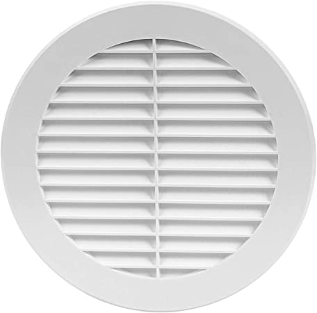 NEW Round Louvre Vent Brown Each