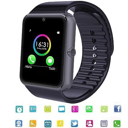 Reloj Inteligente SmartWatch Bluetooth Tagobee TB04 Tarjeta SIM Cámara Whatsapp Notifications Compatible con Todos los teléfonos Android y iOS ...