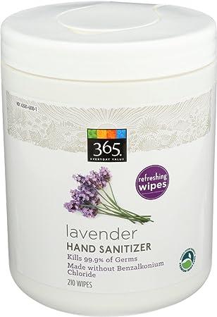 Amazon Com 365 Everyday Value Lavender Hand Sanitizer Wipes 210