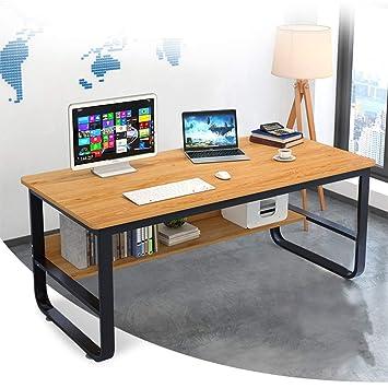 Amazon.com: GONGting Simple Computer Desk, PC Laptop Writing ...