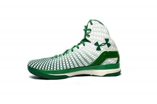 Under Armour Hombre UA clutchfittm Disco Mid Zapatillas de Baloncesto, Blanco (Blanco, Verde (White/Green/Green)), 48: Amazon.es: Zapatos y complementos