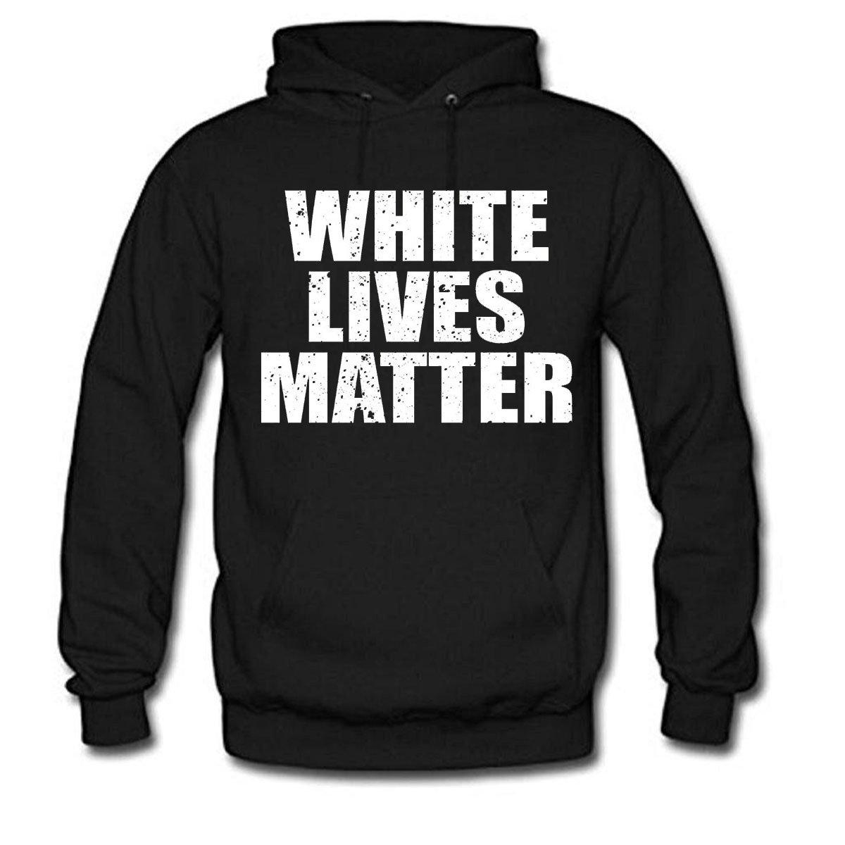 aac27d4dcdd White lives matter men long sleeve cotton hoodie at amazon men clothing  store jpg 1200x1200 Matter