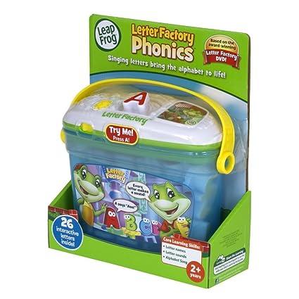amazon com toy game leapfrog letter factory phonics 26 singing