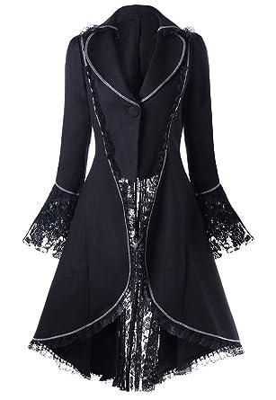 a798f74acf3d Veste Noire avec Coutures Blanche
