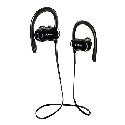 Auriculares Bluetooth, Auriculares deportivos inalámbricos Alfheim, Auriculares impermeables estéreos IPX-7 HD para