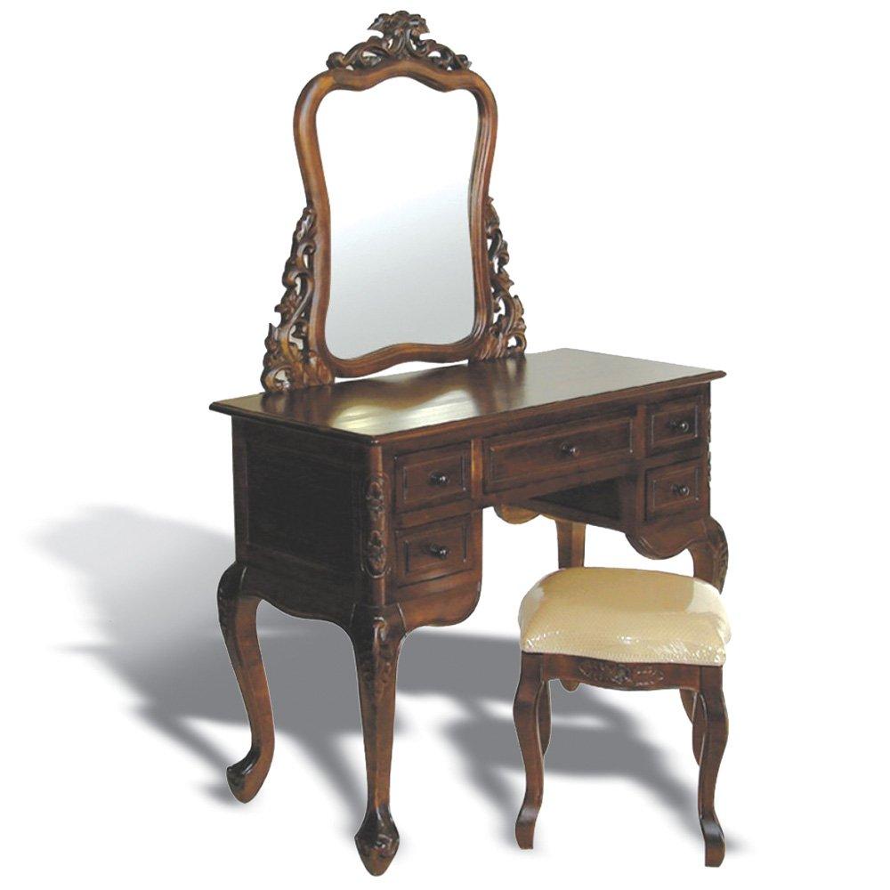 Konsole mit Spiegel - Stil Barock / Louis XV/ XVI | Handgefertigt |