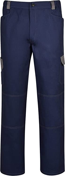 Imagen deDINOZAVR Omega Pantalones de Trabajo de algodón para Hombre - Azul Marino