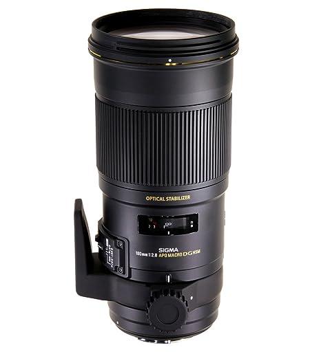Sigma SIAR550 - Objetivo para cámara réflex y Evil, 180mm, f2.8 ...