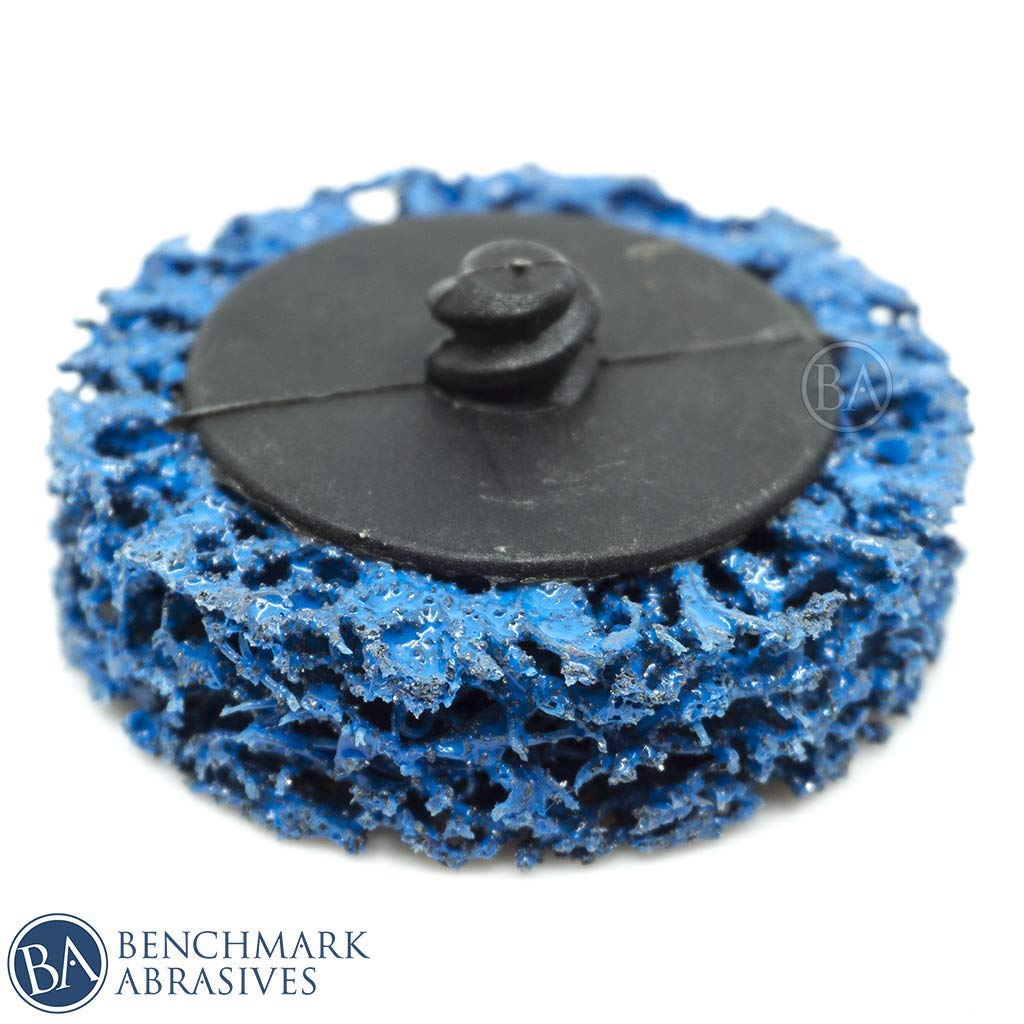10 Pack - Benchmark Abrasives Roloc Easy Strip Discs Clean & Remove Paint, Rust and Oxidation (2 INCH) 71ackjy8dxL