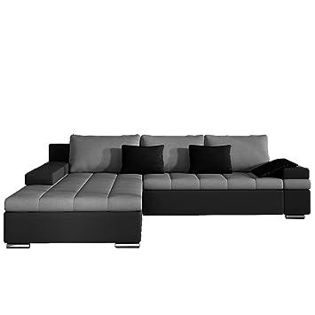 wohnlandschaft l form mit schlaffunktion. Black Bedroom Furniture Sets. Home Design Ideas