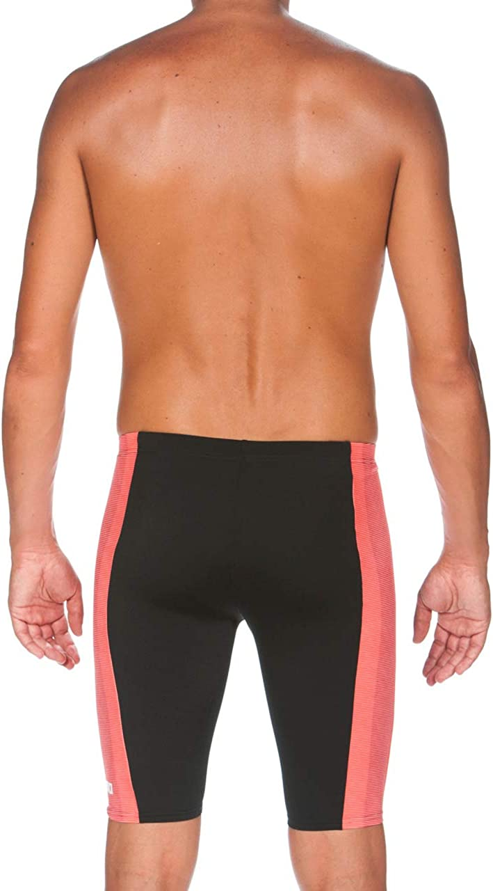 Arena Mens Blended Stripe MaxLife Jammer Swimsuit