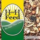 H and H Feed Delish! Old Fashioned Chicken Scratch Freshly Milled: Non-GMO, Soy Free, Corn Free (20 lb)