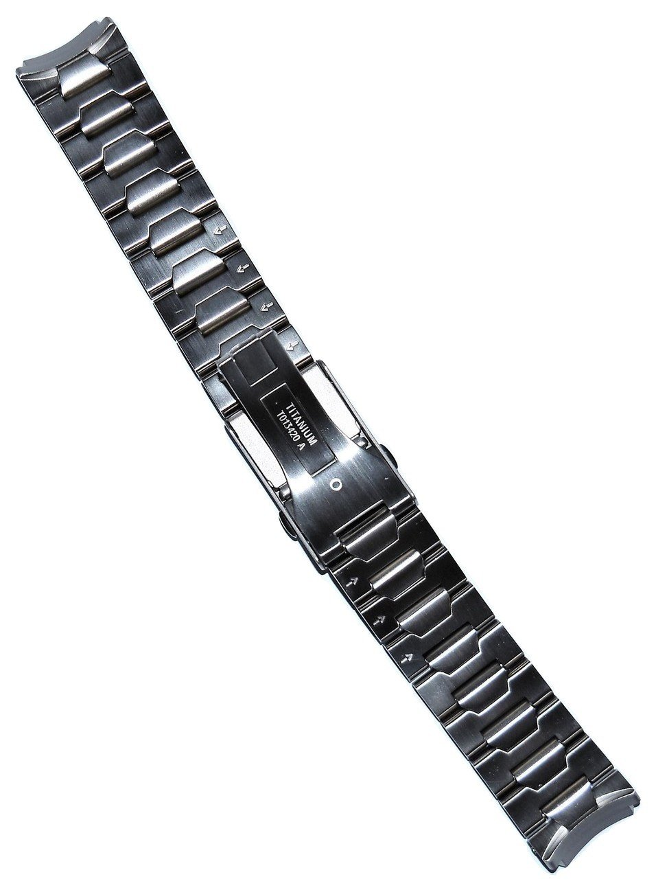 Tissot T-Touch II & Expert Titanium Watch Bracelet Band [CHECK FOR T013420A or T047420A ON THE BACK OF WATCH] by Tissot (Image #2)