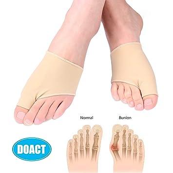 Socken mit Gel Pad   Bunion Sleeve   Hallux valgus Bandage   Ultradünne Korrekturschiene   Zehenspreizer Für Ballen Schmerzli