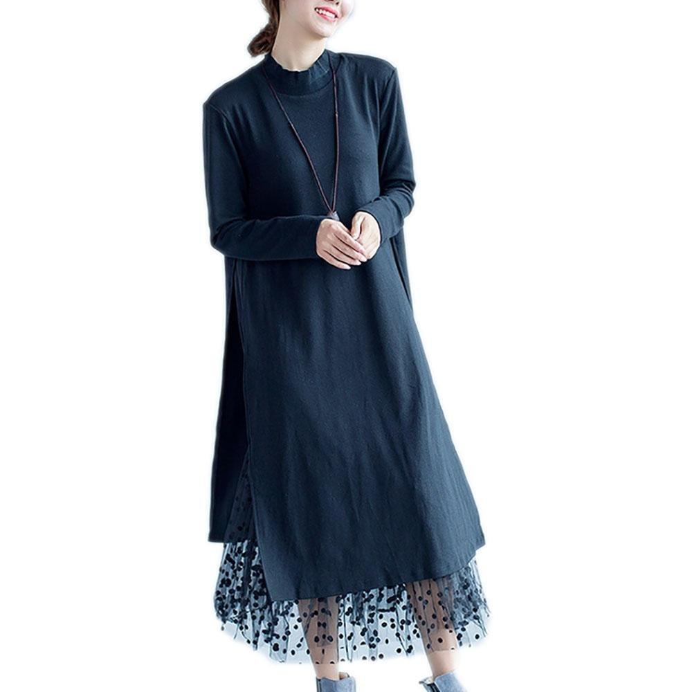 Nuan Jia Feng Nuevo otoño y el invierno mujeres de talla grande de grasa mm sección de largo era el ...