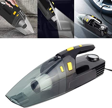 Aspirador portátil de Mano Potente para automóvil Coche Portable 120W portátil Potente aspiradora, Cámara en Mano Coche Vacuum Cleaner Potente: Amazon.es: Hogar
