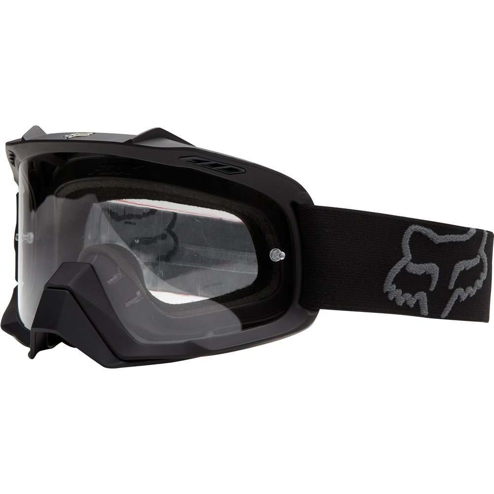 Fox AIRSPC Youth MX Goggle - Matte Black / Clear Lens by Fox